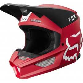 Casque cross Fox V1 MATA cardinal 2019
