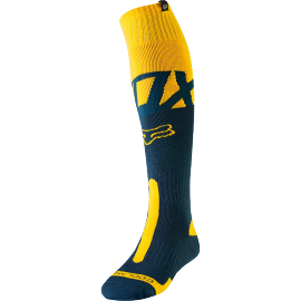 Chaussettes cross Fox coolmax Thick Kila navy yellow