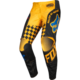 Pantalon Fox Kids 180 CZAR black yellow 2019