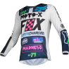 Maillot Fox Kids 180 CZAR light grey 2019