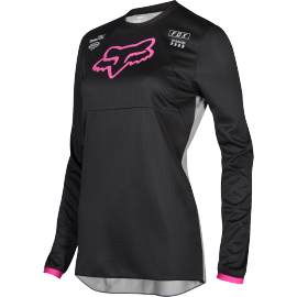 Maillot Fox Fille 180 Mata black pink 2019