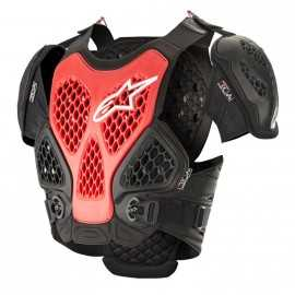 Pare pierre Alpinestars Bionic Chest Protector black red 2019