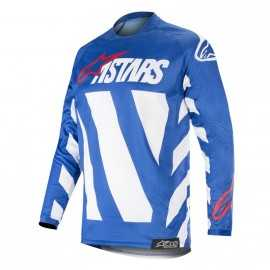 Maillot Alpinestars Racer Braap blue white red 2019