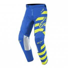 Pantalon Alpinestars Enfant Racer Braap blue yellow fluo 2019