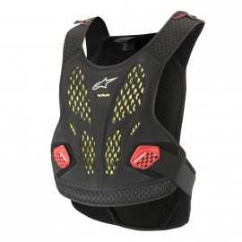 Pare pierre Alpinestars Sequence Chest anthracite rouge