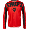 Maillot Cross Shift Whit3 York red 2019
