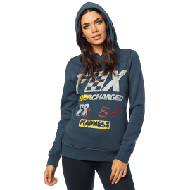 Sweat Fox femme Supercharged navy