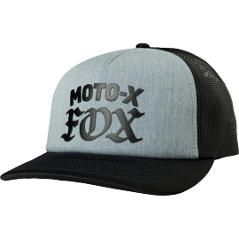 Casquette Fox Moto X heather graphite