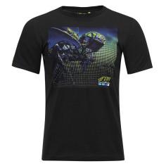 Tee-Shirt VR46 GOPRO noir