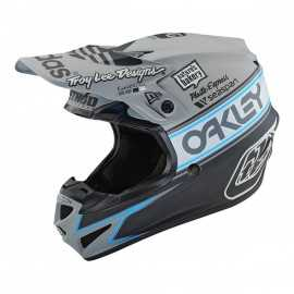 Casque cross Troy Lee Designs SE4 Polyacrylite Team Edition 2 grey 2019