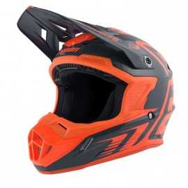 Casque Cross Answer AR1 EDGE charcoal flo orange 2019