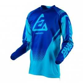 Maillot Cross Answer Syncron Drift astana reflex bleu