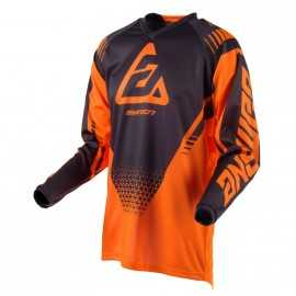 Maillot Cross Answer Syncron Drift orange gris