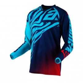 Maillot Cross Answer Syncron Flow Astana indigo bright red