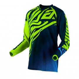 Maillot Cross Answer Syncron Flow Hyper Acid Midnight Astana
