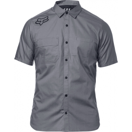 Chemise Fox homme Redplate Flexair grey