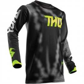 Maillot cross Thor Pulsair Radiate noir