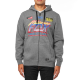 Sweat Fox homme Jetskee zippé heather graphite