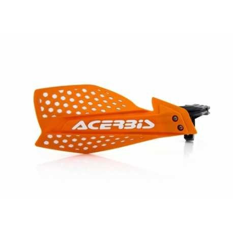 Protèges mains Acerbis X-Ultimate orange blanc