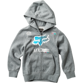 Sweat Fox enfant Backdrafter zippé heather graphite