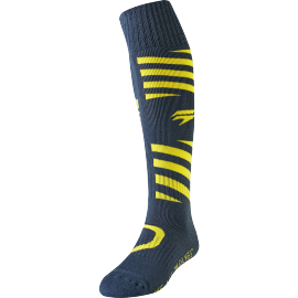 Chaussettes motocross Shift Whit3 Muse navy yellow 2019