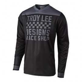 Maillot Troy lee designs GP Raceshop black