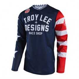 Maillot Troy Lee Designs GP Air Americana navy 2019