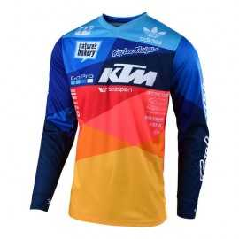 Maillot Troy Lee Designs GP Air Jet Team KTM navy orange 2019
