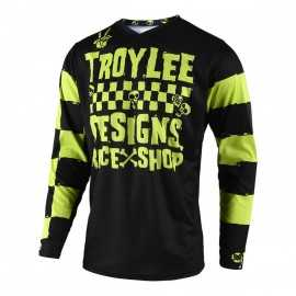 Maillot Troy lee designs GP Enfant Race Shop 5000 lime 2019