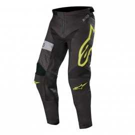 Pantalon Alpinestars Racer Tech Atomic black yellow fluo gray 2019