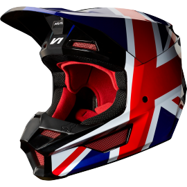 Casque cross Fox V1 Edition Spéciale MXON REGL red black 2019