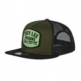 Casquette Troy lee designs Blockworks Snapback army