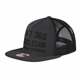 Casquette Troy lee designs Race Club Snapback graphite