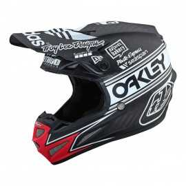Casque cross Troy Lee Designs SE4 Carbon Team Edition 2 black 2019