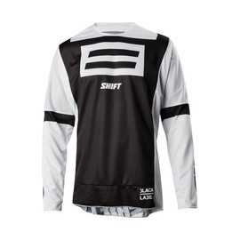 Maillot cross Shift 3Lack Jeff Emig noir camo
