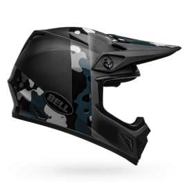 Casque cross Bell MX-9 Mips Presence matte gloss black titanium camo 2019