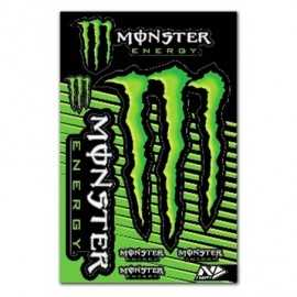 Planche stickers Monster Energy