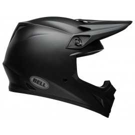 Casque cross bell mx-9 mips solid noir mat 2019