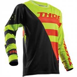 Maillot cross Thor Fuse Air S18 Rive lime orange