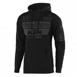 Sweat Troy lee designs Team KTM noir 2019