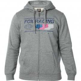 Sweat Fox Global Zip heather graphite