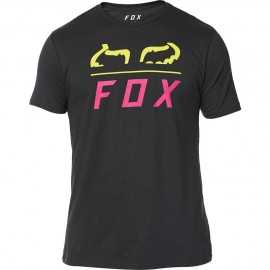 Tee-shirt Fox Furnace black yellow