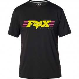 Tee-shirt Fox Muffler black yellow