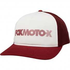 Casquette Fox Baldwin Trucker cranberry