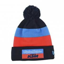 Bonnet pompon Troy lee designs Team KTM Block navy 2019