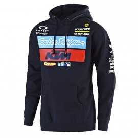 Sweat Troy lee designs enfant Team KTM navy 2019