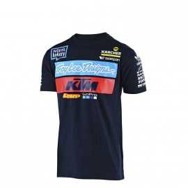 Tee-shirt Troy lee designs enfant Team KTM navy 2019