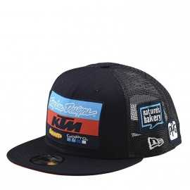 Casquette Troy lee designs Team KTM snapback navy