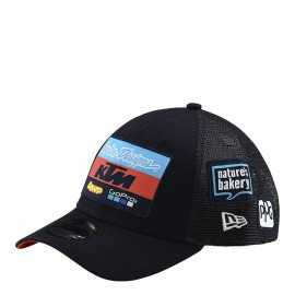 Casquette Troy lee designs Team KTM curve snapback navy 2019