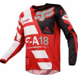 Maillot Fox Kids 180 Sayak rouge
